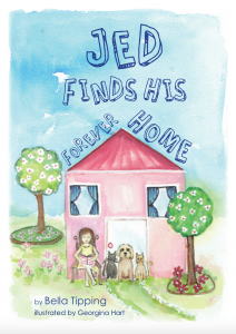 Jed Finds His Forever Home - Front Cover